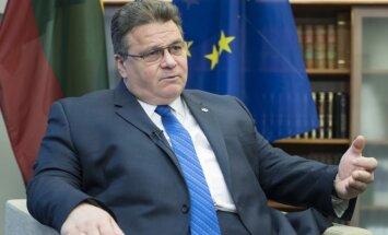Linkevičs: Lietuva neplāno vēstniecības pārcelšanu uz Jeruzalemi