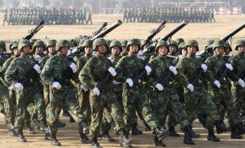 Arī Ķīna palielinās aizsardzības budžetu
