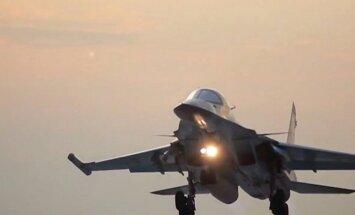 Pie Latvijas robežas pamanītas piecas Krievijas armijas lidmašīnas