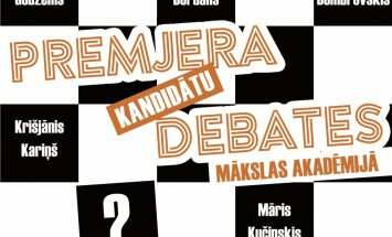 Otrdien 'Delfi' pārraidīs līdz šim nebijuša formāta premjera kandidātu debates