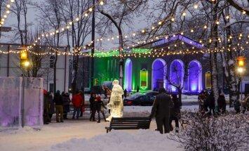 Foto: Ledus, uguns un dzeja – 'Latvijas Goda aplis' Rēzeknē