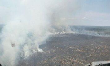 Ramatas purva ugunsgrēka platība sasniegusi 220 hektārus
