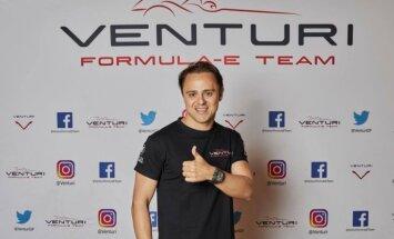 Bijušais F-1 pilots Masa karjeru turpinās 'Formula E' čempionātā