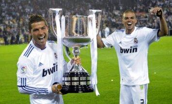 Krištianu Ronaldu grib Madrides 'Real' spēlēt vēl 10 gadus