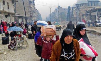 Alepo šausmas: Sīrijas spēki atbrīvotajos rajonos šauj civiliedzīvotājus