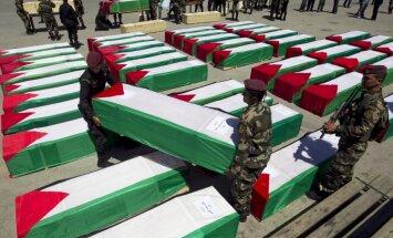 Grieķijas parlaments aicina valdību atzīt Palestīnu