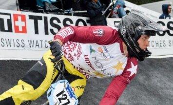 Treimanis izcīna piekto vietu pasaules BMX čempionātā