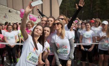 Sievietes mazāk čīkst un vairāk izdara. Iedvesmojoši Sieviešu skrējiena dalībnieču citāti