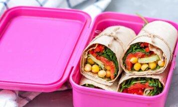 Ēšanai parocīgs pusdienu kastītes saturs: 19 veselīgas receptes un ēdienkarte nedēļai