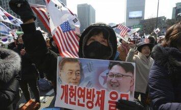 Ziemeļkoreja noraida ASV sarunu priekšnoteikumus par atteikšanos no kodolieročiem