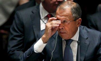 Lavrovs: ASV 'signalizē' par vēlmi uzlabot attiecības ar Krieviju