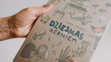 Klajā nāk 'Tutas lietu' komponistes Lauras Polences nošu grāmata 'Dziesmas bērniem'