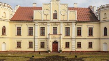 ФОТО. Как выглядит дворец Валдека в Елгаве
