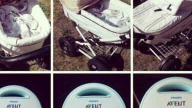 Mamma eksperimentā ar lelli uzskatāmi parāda, cik bīstami karstumā ir aizsegt bērnu ratiņus