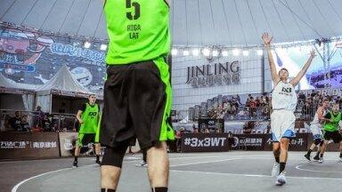 Latvijas 3x3 basketbolisti ar pārliecinošām uzvarām sasniedz Džidas posma ceturtdaļfinālu