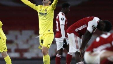 Mančestras 'United' un 'Villarreal' sasniedz UEFA Eiropas līgas finālu