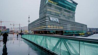 Foto: Norvēģijas karaliskā ģimene atklāj iespaidīgo Munka muzeju Oslo