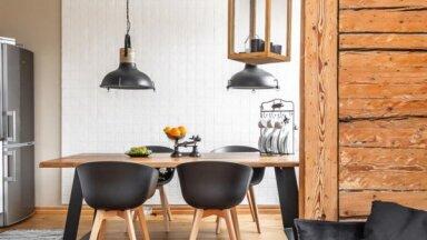 ФОТО. Таллинская жемчужина: прекрасно отреставрированная квартира в доме XIX века с деревянными стенами