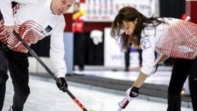 Latvijas kērlinga čempionātā jauktajām komandām vērojams būtisks komandu pieaugums