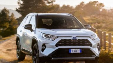Nosaukti pirmā pusgada 10 populārākie jaunie auto Latvijas tirgū