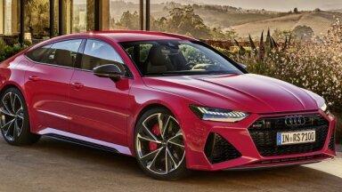 Jaunais 'Audi RS7' ar 600 ZS un 3,6 sekundēm līdz 'simtam'