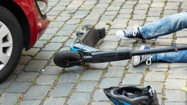 83% negadījumu ar elektriskajiem skrejriteņiem notikuši Rīgas reģionā