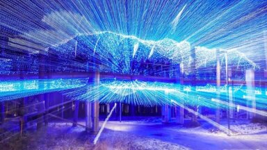 ФОТО: В Юрмале открылся впечатляющий Парк света
