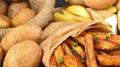 Cepti frī kartupeļi kā kafejnīcā