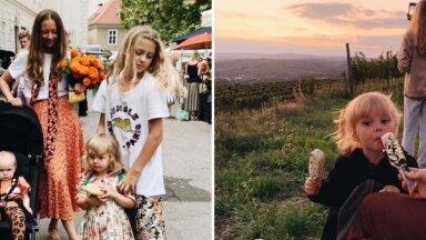 Privāti foto: Kā skaistā Pīlēnu ģimene iedzīvojusies Austrijā