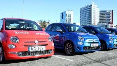 Foto: 'CityBee' investējis 1,5 miljonus eiro nomas automašīnās Rīgā