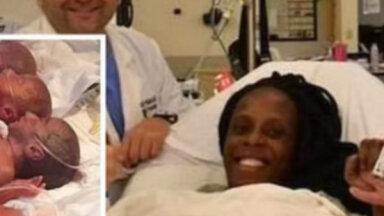 Гражданка Мали родила сразу девятерых. Это стало сюрпризом даже для врачей