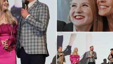Foto: Influencere Evelīna Pārkere kļuvusi par lielā kino aktrisi