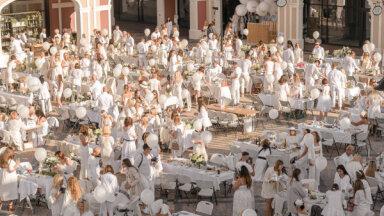 Baltais pop-up pikniks Siguldā jau nākamnedēļ, ir vēl dažas brīvas vietas