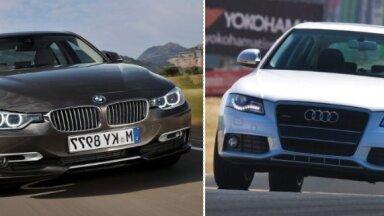 Populārākās auto markas un modeļi lietoto auto tirgū Latvijā