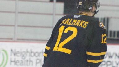 Tralmakam rezultatīva piespēle 'Bruins' graujošā uzvarā AHL čempionātā