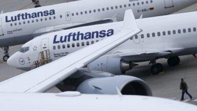 'Lufthansa' plāno ātri atmaksāt valsts sniegto finanšu palīdzību