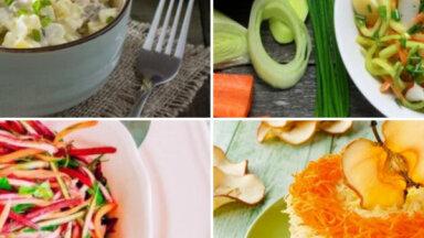 Vitamīni bļodiņā – salāti ar āboliem: 24 receptes rudens ēdienkartei