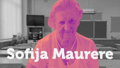 Skolotāja uzdevums – attīstīt domāšanu. Sofija Maurere par dzīvi un darbu lauku skolā