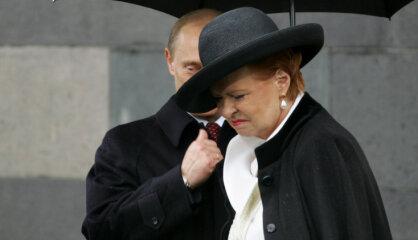 2005. gads: Pirmais praids Rīgā, prezidente 9. maijā Maskavā, latviešu viesstrādnieki Īrijā