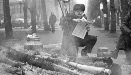 1991 год: Баррикады, Декларация независимости, распад СССР
