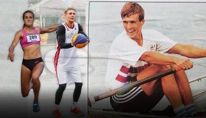 Uz olimpiskajām spēlēm pa tēva iemīto taku. Lasmaņu ģimenes talantu fabrika