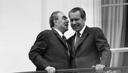 """1972 год: Встреча Никсона с Брежневым, заложники в Мюнхене, на экраны выходит """"Крестный отец"""""""