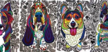 В Spice Home пройдет мастер-класс художника с участием собак и инвалидов
