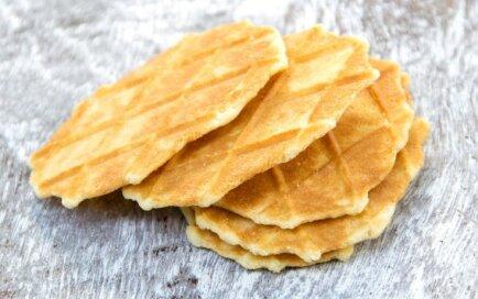 Kausētā siera vafeles