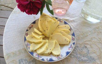 Foto recepte: Ērmaņmuižas Jāņu siers