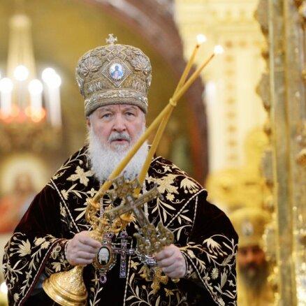 Патриарх Кирилл призвал не ходить в храмы во время эпидемии