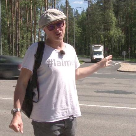 'Zebra': Visstulbākais rekonstruētais krustojums Rīgā ir Lubānas ielā