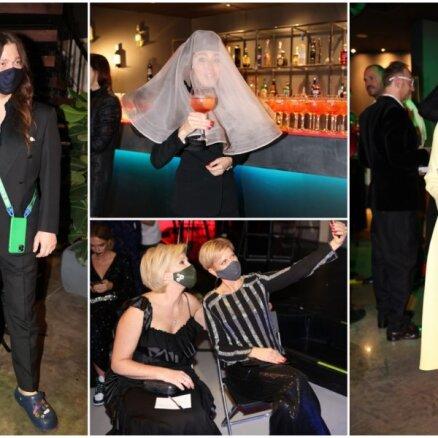 Foto: Stilīgākie rīdzinieki ballējas Modes nedēļas burziņā