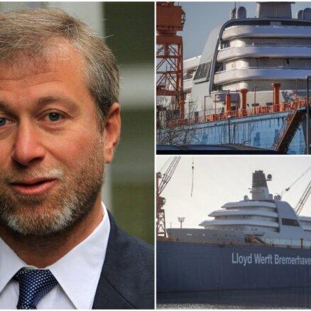 ФОТО: Как выглядит новая суперъяхта Романа Абрамовича за полмиллиарда евро