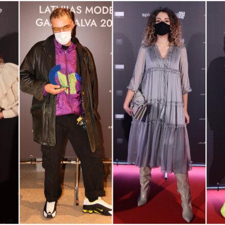 Foto: Kā šogad uzcirtušies Rīgas modes nedēļas stilīgākie viesi